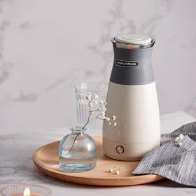 摩飞便携式烧水壶小型家用保温一体自动家用不锈钢旅行电热水壶