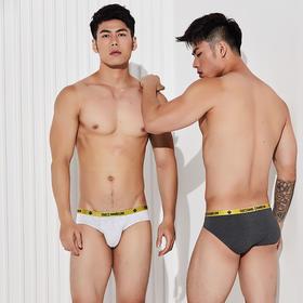 【透气干爽 弹韧贴合】ASIANBUM莫代尔三角裤三条装 柔软吸湿 不易掉色