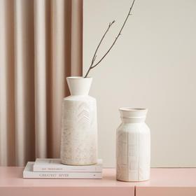 北欧简约现代花瓶摆件家居饰品客厅酒柜装饰品轻奢创意陶瓷电视柜