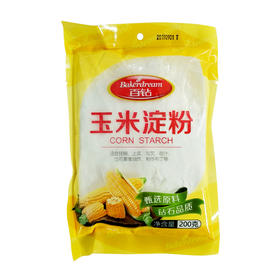 【安全配送】安琪百钻玉米淀粉200g