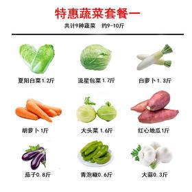 【精选】 蔬菜特惠套餐 【应季蔬果】