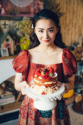 红粉佳人裸蛋糕