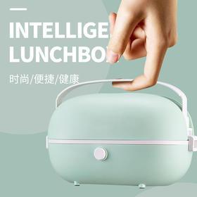 快乐多KARODO智能电热饭盒 蒸煮炖一体机