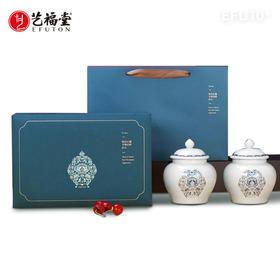 艺福堂 春茶上市 明前特级西湖龙井茶 瓷罐青花雅韵礼盒 狮韵EFU10+ 2020新茶 150g/份