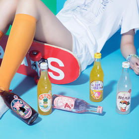 【网红潮饮 炫酷好喝】汉口二厂果汁汽水