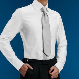 尊轩级高棉弹力针织T恤面料免烫正装衬衫(4月中交货)