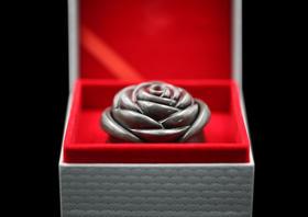 【女神节专享】2016年库克玫瑰在你心银币特价