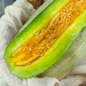 羊角蜜甜瓜  头茬瓜尝鲜香脆清甜  产地现摘现发顺丰 4.5-5斤