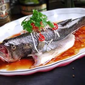 三都港清蒸鲈鱼500g