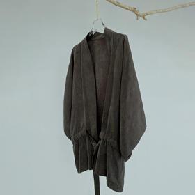 游园 · 铜氨丝提花直袖罩衫