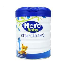 【保税直邮】荷兰原装进口婴幼儿奶粉Herobaby白金版(1.2.3.4段)