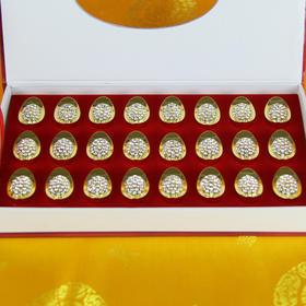 3.1cm长小号钻石实心金元
