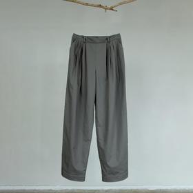 游园 · 有机棉麻阔腿裤