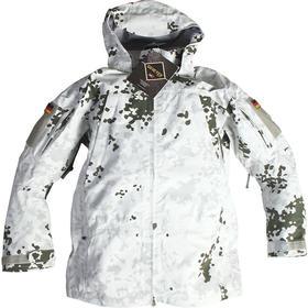 【德国公发】三防户外雪地斑点迷彩冲锋衣