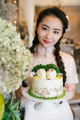 桂花龙井蛋糕