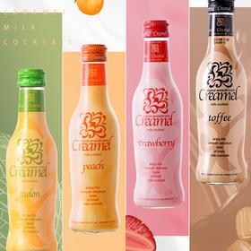 [凯利梅尔奶油利口酒]草莓/蜜桃/太妃糖/蜜瓜 四口味组合装 200ml/瓶*4瓶