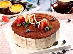 奶油可可蛋糕