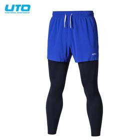 UTO悠途锐能款男女运动二合一长裤