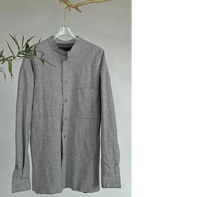 游园 · 天丝麻针织复合衬衫