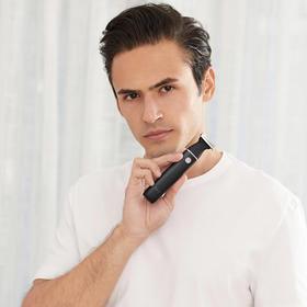 素士多功能电动剃毛刀 | 一机剃净全身毛发,男士造型神器