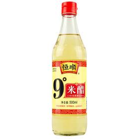 恒顺 醋 9度米醋白醋 不使用添加剂 500ml-865507
