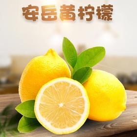 【精选】安岳一级精品机封大果黄柠檬 | 现摘现发 果香浓郁 | 1-5斤大果包邮 【应季蔬果】