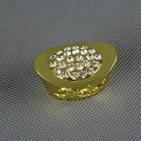 4.5cm长中号钻石金元