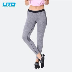 UTO悠途炫进款女士运动修身长裤瑜伽裤休闲裤春夏款