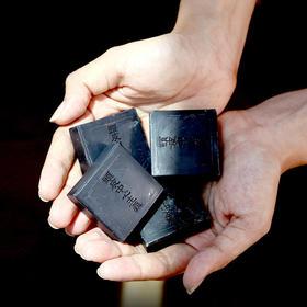 【强力清洁头皮/告别油腻】日本菊星洗发小黑皂