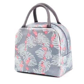加厚饭盒保温袋便当手提铝箔包带饭手拎帆布袋子学生餐盒