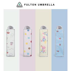 英国富尔顿FULTON2020新款英伦风银胶便携UPF50+防晒伞