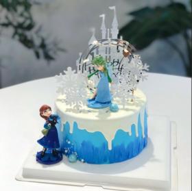 冰雪奇缘*生日蛋糕