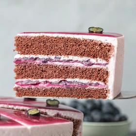 [G4-2b]澳之风蓝莓夹心蛋糕8寸