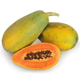 【云南】现摘红心木瓜 农家自然风味 果香浓郁 鲜甜多汁 果形圆润