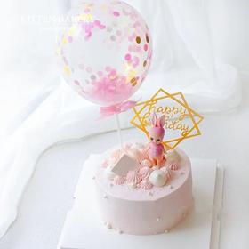 粉小兔蛋糕
