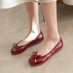 MR.ING·芭蕾鞋 │ 可折起的小软鞋,显腿长,如拥舞者的轻盈灵动