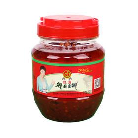 丹丹红油郫县豆瓣酱炒菜拌面 调料酱 火锅干锅底料酱 调味酱 正宗川味 绿色食品500g-865953
