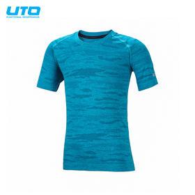 UTO炫彩系列迷彩运动短袖