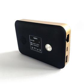 凯步关爱M6北斗定位终端移动wifi充电宝4G无线路由器 黑色 标配