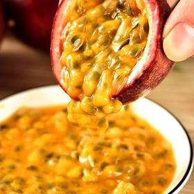 广西百香果新鲜热带西番莲鸡蛋果5斤大果 现摘水果酸爽香甜