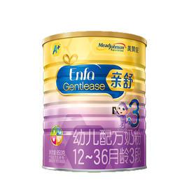 【亲舒】美赞臣亲舒幼儿配方奶粉3段850g