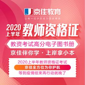 2020教师资格证笔试高分电子图书册(包)