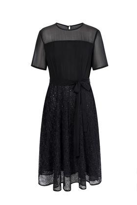 Easel Dress 真丝连衣裙