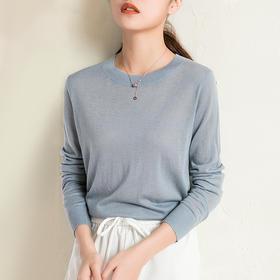 Avann超薄羊毛混纺针织衫 │ 春天必备百搭单品,穿出温柔慵懒女人味