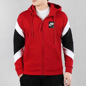 【特价】Nike耐克 Air Hood FZ FLC男款夹克外套 - 内里磨毛,抽绳连帽