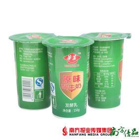 【珠三角包邮】华农原味酸牛奶 150g /杯  10杯/份(6月5日到货)