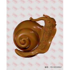 YD-DZ10062 蜗牛 立体圆雕图纸