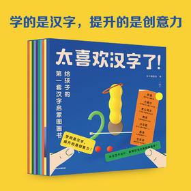 太喜欢汉字了 给孩子的第一套汉字启蒙图画书