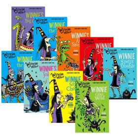 英文原版 Winnie the Witch 女巫温妮系列小说9册 Winnie and Wilbur 吴敏兰书单温妮女巫魔法绘本 儿童英语小说章节书牛津英文版