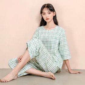 适则纯棉双层纱家居服 │ 奶奶辈都爱用的矜贵面料,舒爽透气,一件从春穿到夏